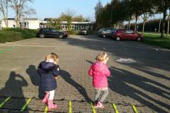 Balvaardigheidsles Kinderdagverblijf Partou ladder